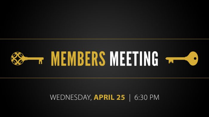Members Meeting April