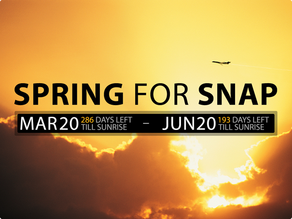 SPRING for SNAP 2013 updated