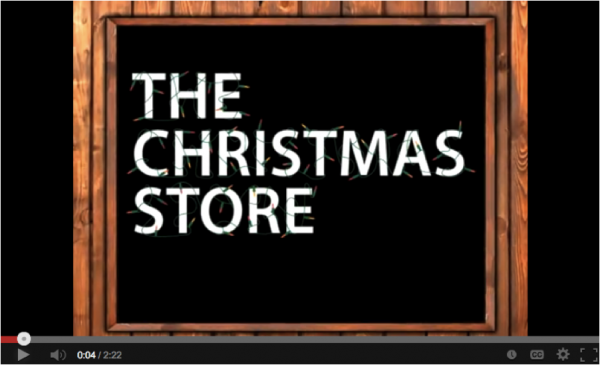 Christmas store 2010 promotion video image