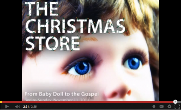 Christmas store 2012 promotion video image