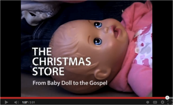 Christmas store 2012b promotion video image