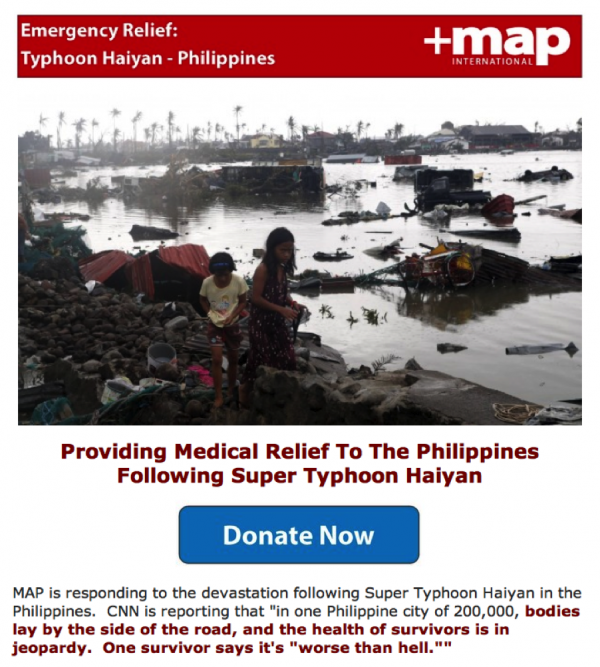 MAP Typhoon Haiyan Philippines 2013