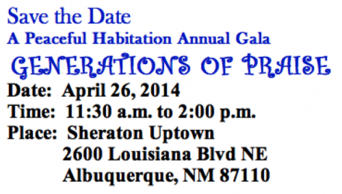 APH save the date gala 2014