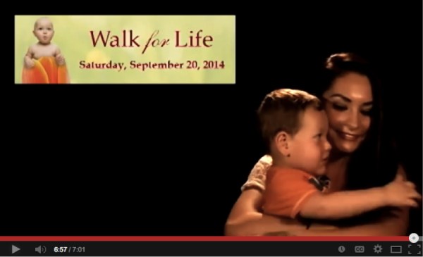 Care Net Walk for Life 2014 video